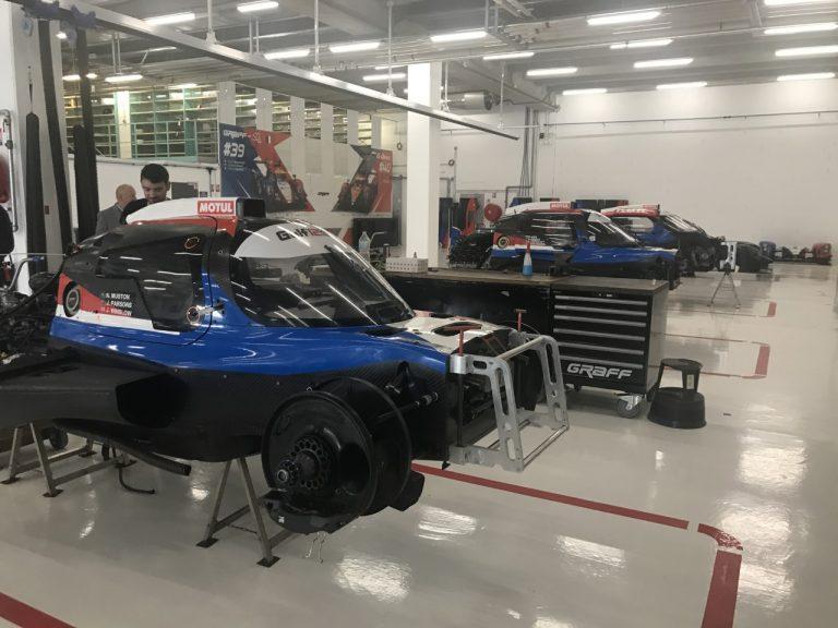 GRAFF Racing – Atelier de préparation des prototypes LMP3 et LMP2