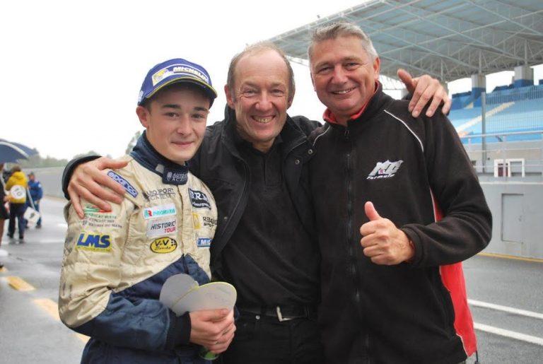 Antoine et Lionel ROBERT avec Yves RICHER.