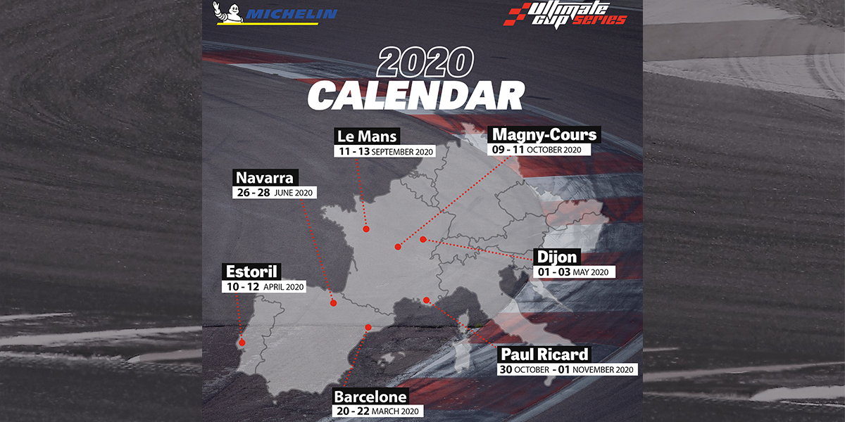 Calendrier Magny Cours 2020.L Ultimate Cup Series Devoile Son Calendrier 2020