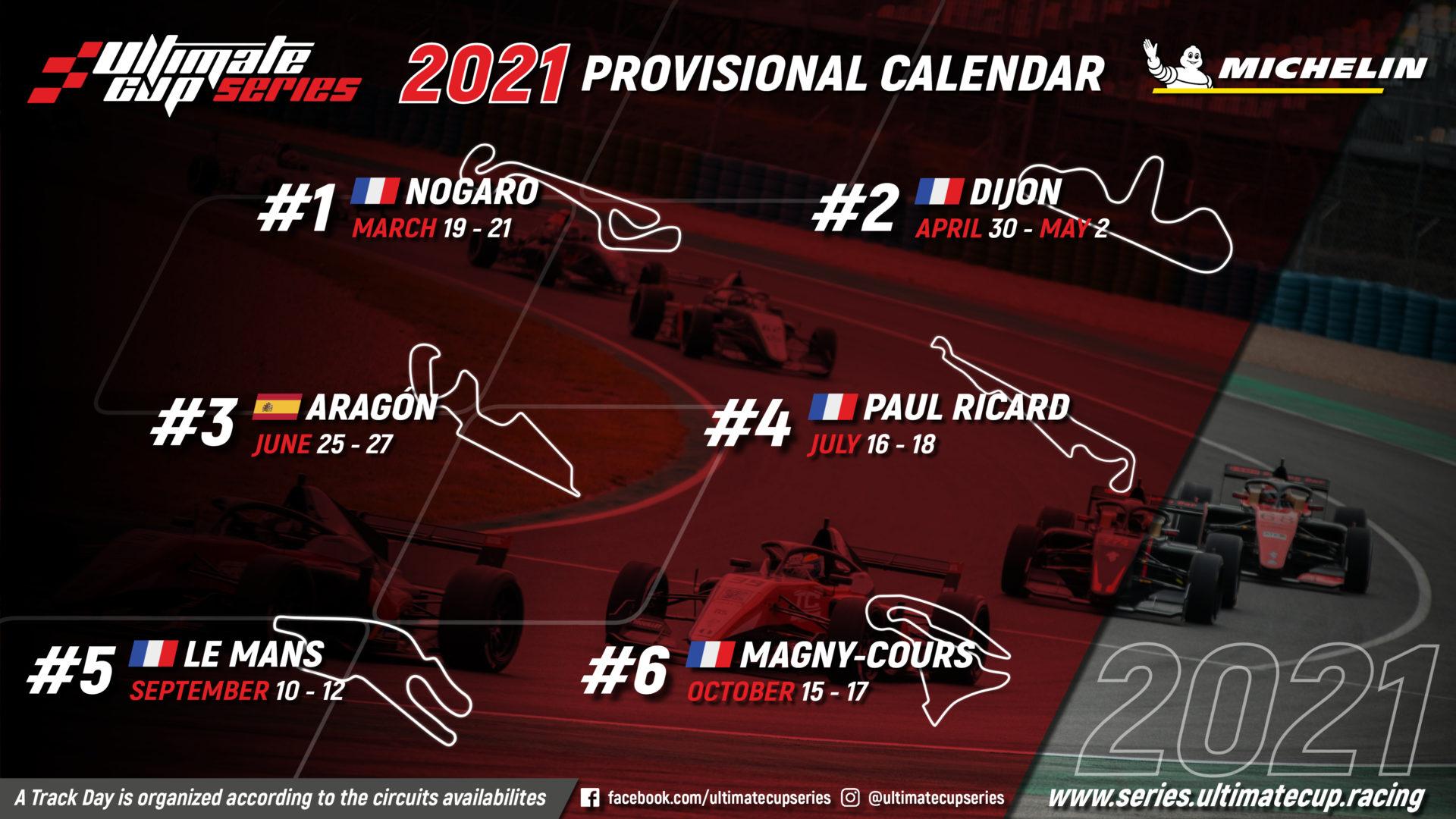 2021 Calendar UCS V6