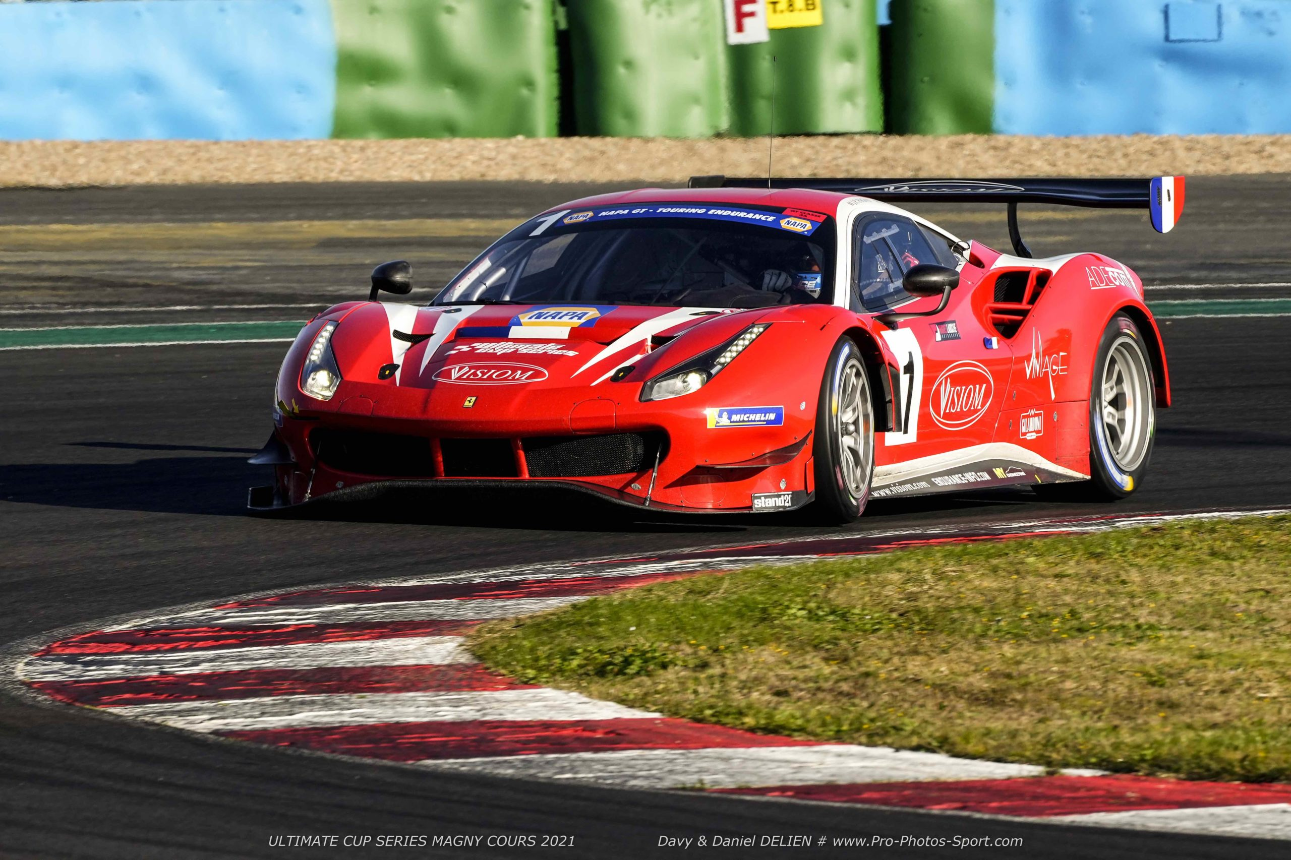 Ultimate Cup Series – Visiom Ferrari fourth at Magny-Cours