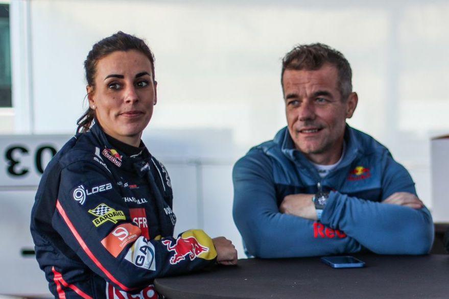 Sébastien Loeb et Laurène Godey à Magny-Cours ce week-end